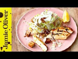 Healthy chicken caesar: Jamie Oliver