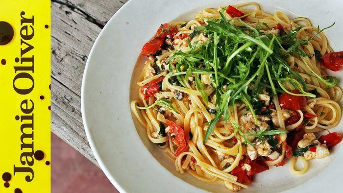 Fish spaghetti: Gennaro Contaldo