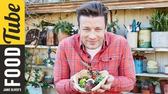 Awesome lamb kebabs: Jamie Oliver