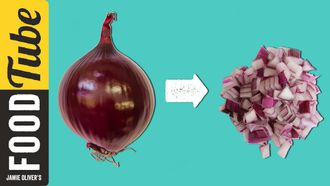 How to chop an onion: Food Busker