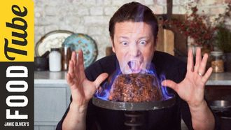 Christmas pudding: Jamie Oliver