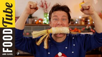 Mexican cheesy corn on the cob: Jamie Oliver