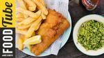 Homemade fish and chips: Bart van Olphen