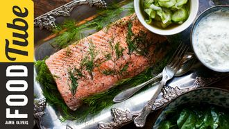 Perfect poached salmon: Donal Skehan