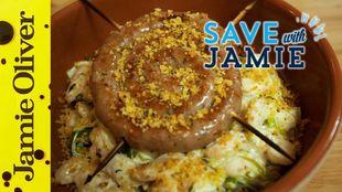 Sausage, Leek and Butterbean Cassoulet
