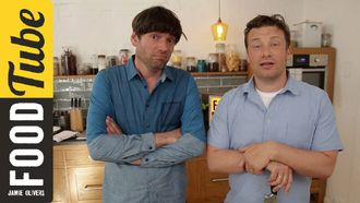 Fantastic cheesy pasta: Jamie Oliver & Alex James