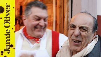 Gennaro meets Dario the Italian Butcher
