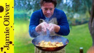 Sausage & squash pasta: Jamie Oliver