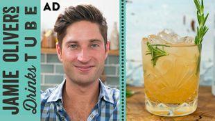 Grapefruit & rosemary vodka cocktail: Joe McCanta