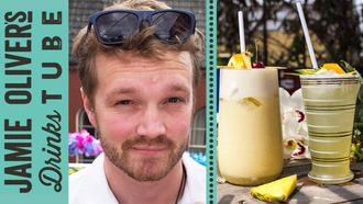 Piña colada cocktail, 2 ways: Rich Hunt