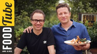 Tray baked crispy trout: Jamie Oliver & Tobie Puttock