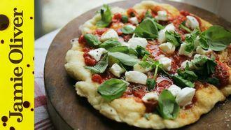 Amazing fried pizza: Antonio Carluccio