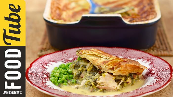Leftover turkey & leek pie: Kitchen Daddy
