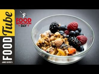 Breakfast granola: Cook With Amber