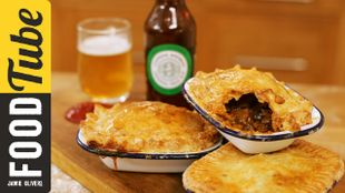 Beef and ale Aussie meat pie