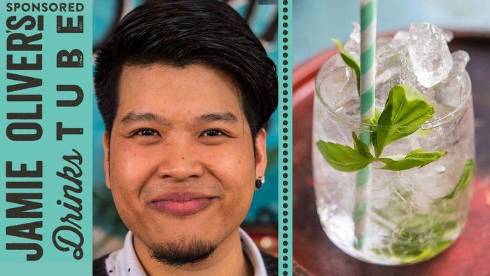 Thai Basil Julep Cocktail