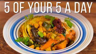 Seven-veg tagine: Jamie Oliver's food team