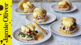 Eggs benedict 5 ways: Jamie Oliver