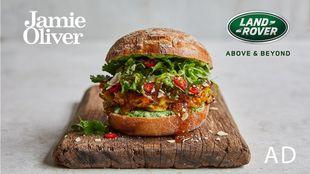 Veggie Bhaji Burger