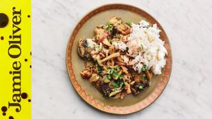 How to make Mushroom stroganoff: Jamie Oliver