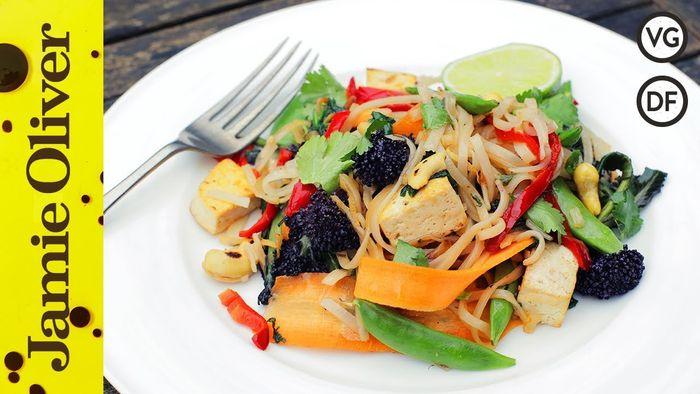 Veggie noodle stir-fry: Danny Mccubbin