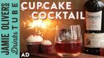 Red velvet cupcake cocktail: Rich Woods
