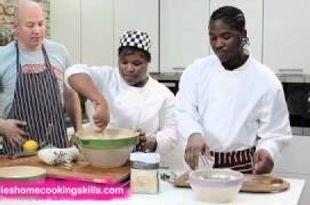 Victoria sponge part 1 - Jamie Oliver's Home Cooking Skills