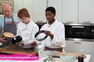 Victoria sponge part 2 - Jamie Oliver's Home Cooking Skills